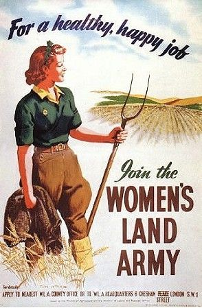 womens land army WWII